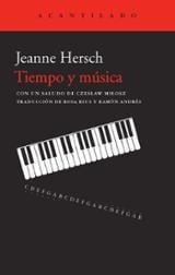 Tiempo y música - Hersch, Jeanne