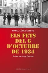 Els fets del 6 d´octubre de 1934 - López Esteve, Manel