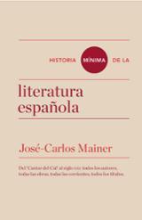Historia mínima de la literatura española - Mainer, José Carlos