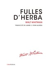 Fulles d´herba - Whitman, Walt