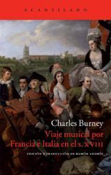 Viaje musical por Francia e Italia en el s. XVIII