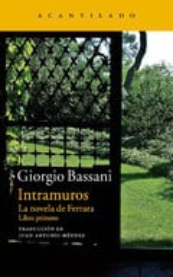 Intramuros (La novela de Ferrara, 1) - Bassani, Giorgio