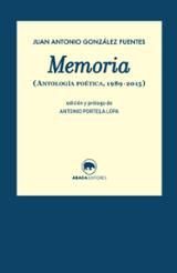 Memoria. Antología poética 1989-2015