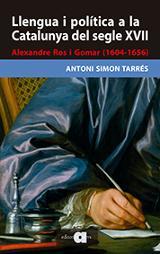 Llengua i política a la Catalunya del segle XVII - Simon Tarrés, Antoni
