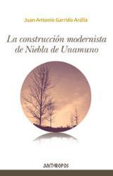 La construcción modernista de Niebla de Unamuno