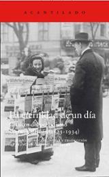 La eternidad de un día: Clásicos del periodismo literario alemán  - AAVV