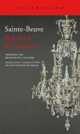 Retratos de mujeres - Sainte-Beuve, Charles Augustin