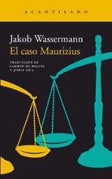 El caso Maurizius - Wassermann, Jakob