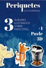 Periquetes. 3 álbumes ilustrados sobre mascotas