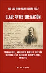 Clase antes que nación - Oyón, José Luis (ed.)