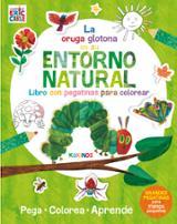 La oruga glotona en su entorno natural