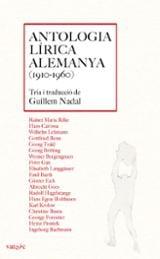 Antologia lírica alemanya 1910-1960 - Nadal Blanes, Guillem (Ed)