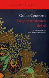 Los pensamientos del té - Ceronetti, Guido