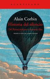 Historia del silencio - Corbin, Alain