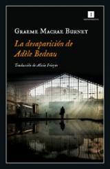 La desaparición de Adèle Bedeau - Macrae Burnet, Graeme