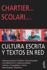 Cultura escrita y textos en red - Chartier, Roger