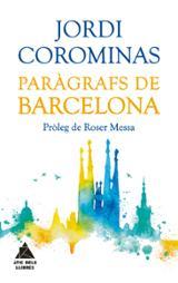 Paràgrafs de Barcelona - Corominas, Jordi