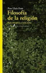 Filosofía de la religión - Font, Pere Lluís