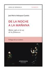 De la noche a la mañana, medio siglo en la voz de los flamencos - Velázquez Gaztelu, José María