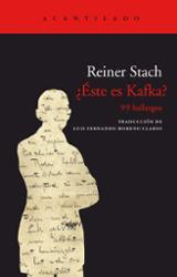 ¿Éste es Kafka? - Stach, Reiner