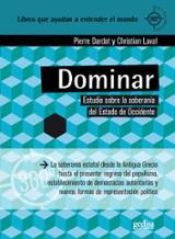 Dominar. Estudio sobre soberanía de Estado en Occidente - Dardot, Pierre