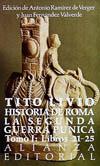 Historia de Roma : la Segunda Guerra Púnica. T.1. Libros 21-