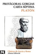 Protágoras, Gorgias, Carta Séptima