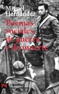 Poemas sociales, de guerra y de muerte