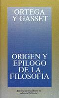 Origen y Epílogo de la Filosofía
