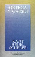 Kant, Hegel, Scheler