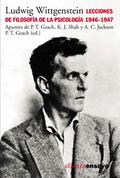 Lecciones de filosofía de la psicología 1946-1947