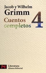 Cuentos completos 4 - Grimm, Jakob