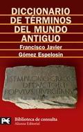 Diccionario de términos del mundo antiguo