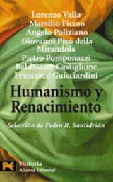 Humanismo y renacimiento. Selección de textos - Rodríguez Santidrián, Pedro [ed.]