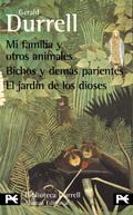 Caja estuche. Gerald Durrel. (Mi familia y otros animales/Bichos