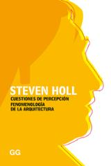 Cuestiones de percepción - Holl, Steven
