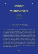 Política y arquitectura. por un urbanismo de lo común y ecofemini - Montaner, Josep Maria