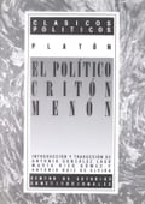 El político; Critón; Menón (ed. bilingüe)