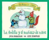 La ardilla y el muñeco de nieve