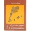 El que s'ha de saber de llengua catalana