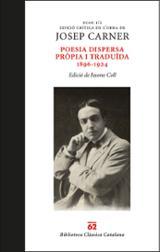Poesia dispersa pròpia i traduïda. 1896-1924