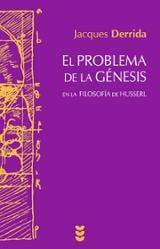 El problema de la génesis en la filosofía de Husserl - Derrida, Jacques