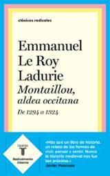 Montaillou, aldea occitana - Le Roy Ladurie, Emmanuel
