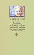 El contrato social o Principios del derecho político
