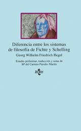 Diferencia entre los Sistemas de Filosofía de Fichte y Schelling