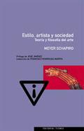 Estilo, artista y sociedad. Teoría y filosofía del arte
