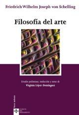 Filosofía del arte - Schelling, Friedrich Wilhelm Joseph