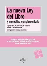 La nueva Ley del Libro y normativa complementaria