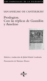 Proslogion. Con las réplicas de Gaunilón y Anselmo - San Anselmo de Canterbury