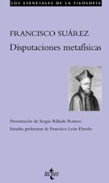 Disputaciones Metafísicas - Suárez, Francisco